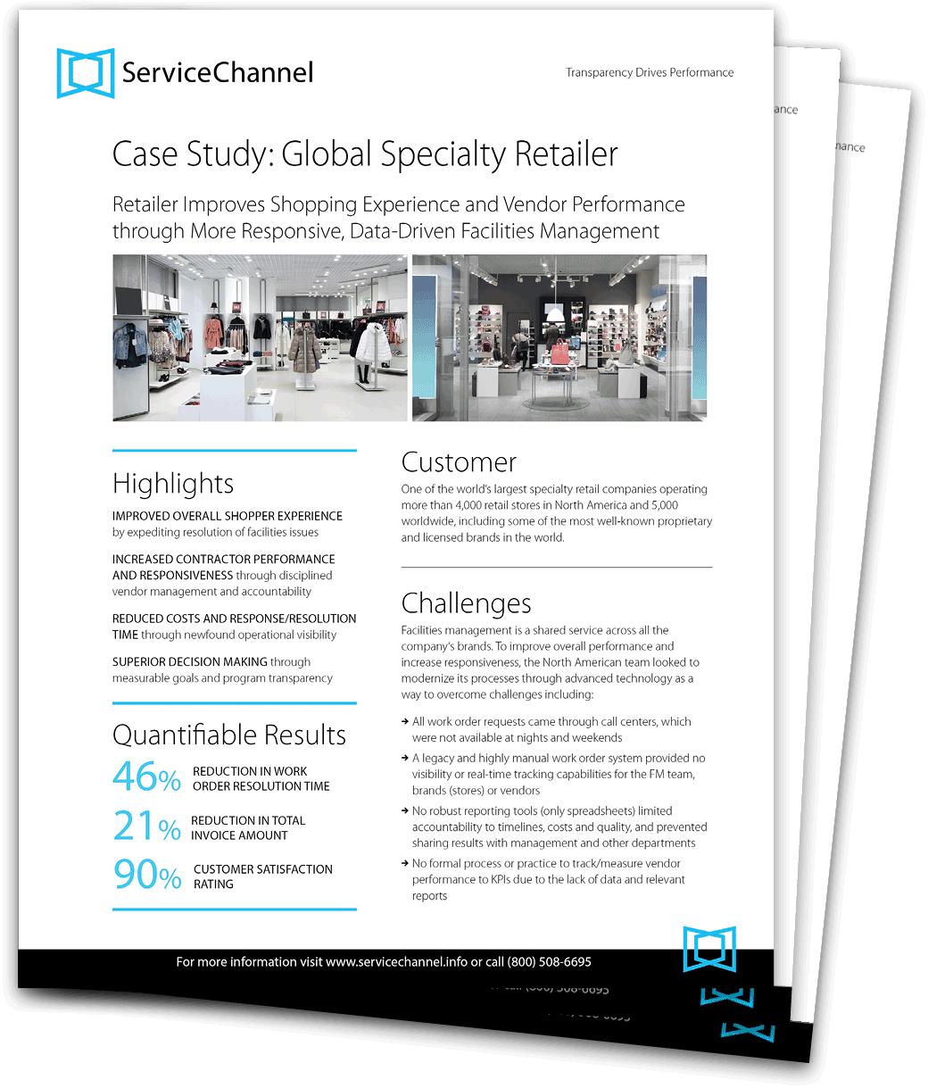Global Specialty Retailer